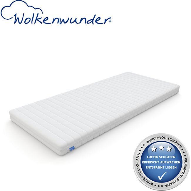 Wolkenwunder Wellflex Giga 7-Zonen Gel-Schaum-Matratze mittel... 80x200 cm - Bild 1