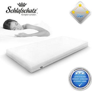 Schlafschatz Wellness Star 7-Zonen-Schaum-Matratze mittel... 90x200 cm - Bild 1