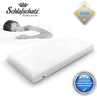 Schlafschatz Wellness Stella 7-Zonen-Schaum-Matratze mittel... 90x200 cm - Bild 1