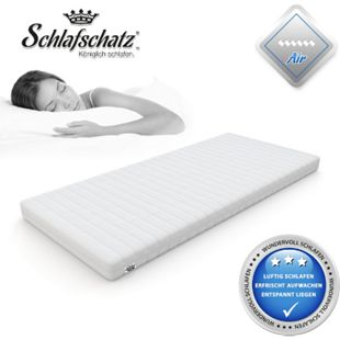 Schlafschatz Wellness AIR 7-Zonen-Gel-Schaum-Matratze mittel... 90x200 cm - Bild 1