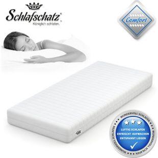 Schlafschatz Wellness Comfort 7-Zonen-Gel-Schaum-Matratze mittel... 80x200 cm - Bild 1