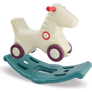2-in-1 Schaukelpferd und Rutscher für Kinder ab 1 Jahr - Baby Schaukeltier - Bild 1