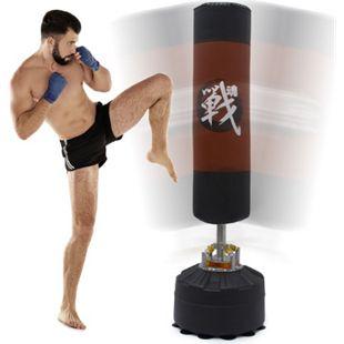 175 cm Boxsack - Feder Dämpfung - MMA Standboxsack für Erwachsene mit Saugfuß - Bild 1
