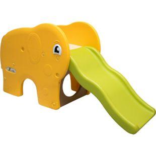 Kinderrutsche Elefanten Kinder Rutsche extra breite Stufen Wellenrutsche Gartenrutsche Babyrutsche - Bild 1