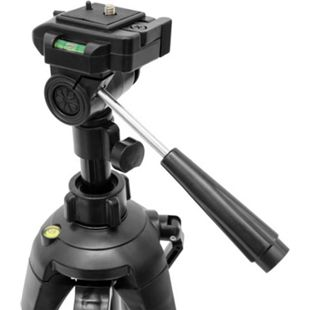 Kamerastativ YU-016 Dreibein Stativ 160 cm 3-Wege Kopf Schnellkupplungssystem inkl. Tragetasche - Bild 1