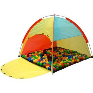 Spielzelt Kinderzelt FABIUS | Bällebad Zelt für Drinnen und Draußen | Kinderspielzelt inkl. Aufbewahrungstasche - Bild 1