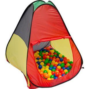 Spielzelt Kinderzelt Pop-Up-Zelt JASPER | Bällebad Zelt für Drinnen und Draußen | Kinderspielzelt inkl. Aufbewahrungstasche - Bild 1