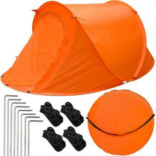 Popup-Zelt Wurfzelt ultraleichtes Campingzelt 245x145x100cm Sekundenzelt Inkl. Tasche Automatik-Zelt - Bild 1