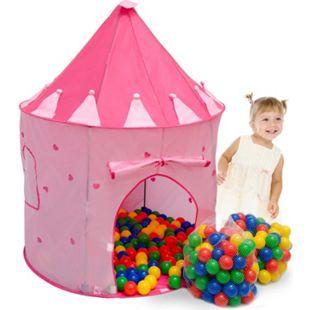Spielset Kinderspielzelt Shanti inkl. 200 Bällebadbällen | Spielzelt Spielhaus für Mädchen | Kinder-Bällebad-Zelt mit Spielbällen | inkl. Tragetasche - Bild 1