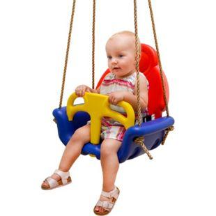 3-in-1 Kinderschaukel 49x48x34cm Babyschaukel Garten Schaukel Kinder Spielzeug - Bild 1
