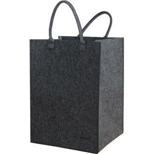 100L Filz Wäschesammler 43x38x60cm XL Universal-Filz-Tasche Faltbarer Wäschekorb - Bild 1