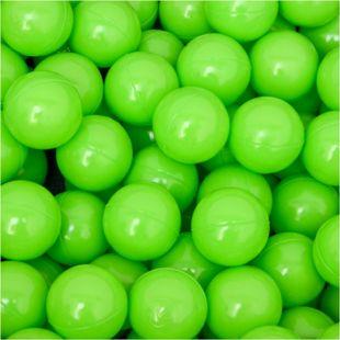 50 Bälle für Bällebad 5,5cm Babybälle Plastikbälle Baby Spielbälle Grün - Bild 1