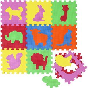 Baby Puzzlematte Kinder Spielmatte EVA Krabbelmatte Spielteppich Babymatte Zoo - Bild 1