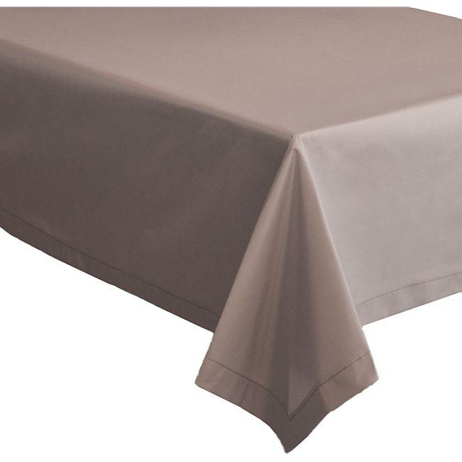Abwaschbare Stoff Tischdecke 240x140 - LotuseffektTischtuch - Wasserabweisend - Bild 1