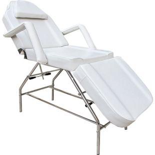 3-Zonen Kosmetikstuhl Massagestuhl Massageliege Behandlungsstuhl Weiß - Bild 1