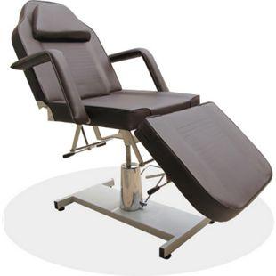 360° Massagestuhl Kosmetikstuhl Kosmetikliege Behandlungsliege Braun - Bild 1