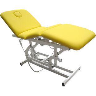 3-Zonen Massageliege Elektrische Behandlungsliege Kosmetikliege Gelb - Bild 1