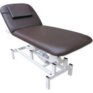 Elektrische Massageliege 185x72 Kosmetikliege Behandlungsliege Braun - Bild 1