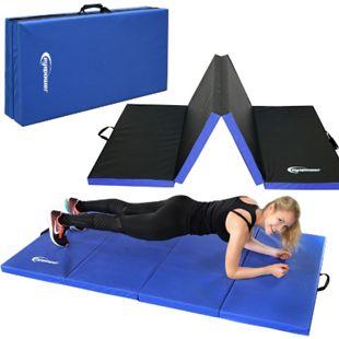 Faltbare Weichbodenmatte RG20 dicke Boden-Turnmatte Sportmatte tragbare XL Matte - Bild 1
