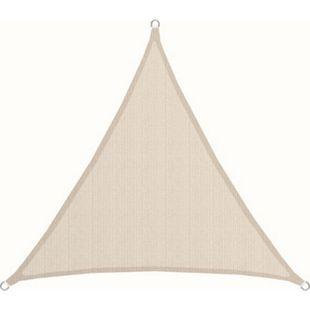 UPF50+ UV Sonnensegel 2x2x2 Polyester Dreieck Wasserabweisend Garten Segel Beige - Bild 1