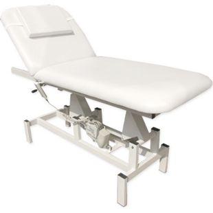 Elektrische Massageliege 185x72 Kosmetikliege Behandlungsliege Weiß - Bild 1