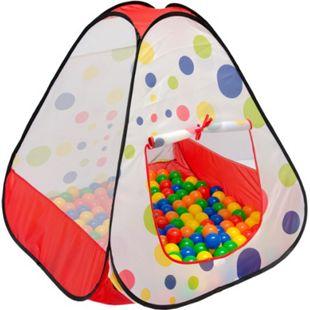 Spielzelt Kinderzelt Pop-Up-Zelt TIANA | Bällebad Zelt für Drinnen und Draußen | Kinderspielzelt inkl. Aufbewahrungstasche - Bild 1
