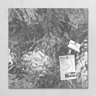 Sigel Glas Magnetboard GL264 artverum Magnetwand Magnet Tafel Whiteboard silber - Bild 1