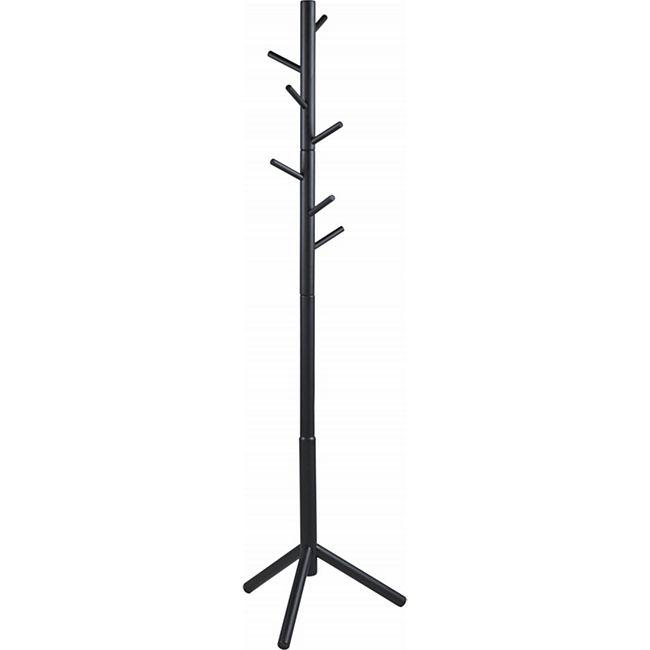 PKline Garderobenständer in schwarz Kleiderständer Garderobe Flur Ständer - Bild 1