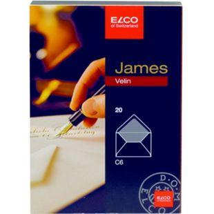 20x ELCO Kuvert C6 Büttenpapier Wasserzeichen Briefumschlag Versandtasche Bütten - Bild 1