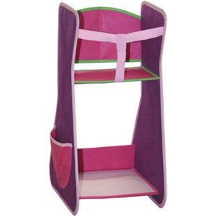 roba Canvas Puppen Hochstuhl Puppenhochstuhl Stuhl Puppenstuhl pink - Bild 1