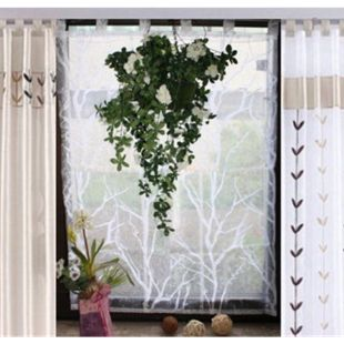 Raffrollo Fertigdeko Fenster Voile Rollo - Bild 1