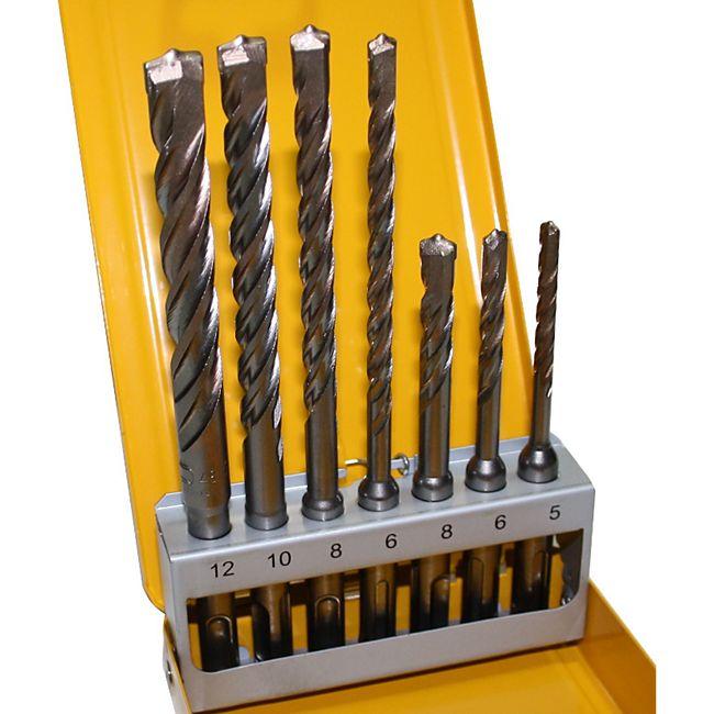 DeWalt Extreme SDS Plus2 Hammerbohrer Set DT9701 Stein Beton Bohrer 5 6 8 10 12 - Bild 1