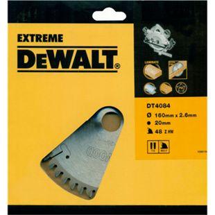 DeWalt Extreme Handkreissägeblatt DT4084 Holz Aluminium Sägeblatt Ø160mm - Bild 1