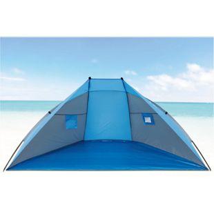 Explorer Strandmuschel 270cm UV 80+ Sonnenschutz Wind Zelt Strand Sichtschutz - Bild 1