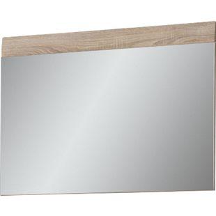 Spiegel für Garderobe Dresden 89x63 Garderobenspiegel Wandspiegel Sonoma Eiche - Bild 1