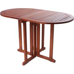 Garden Pleasure Balkontisch Baltimore Eukalyptus Holz Garten Tisch Esstisch - Bild 1