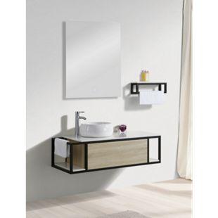 Design LED Lichtspiegel 50x70cm Touch Badezimmer Bad Spiegel Wandspiegel - Bild 1