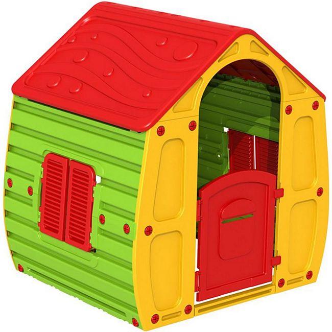 Magical Kinderspielhaus Spielhaus Kinderhaus Kinder Spiel Haus Gartenhaus - Bild 1