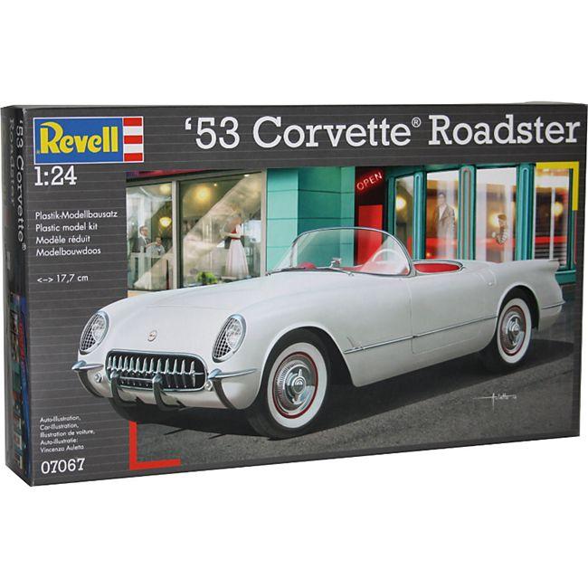 Revell '53 Corvette Roadster 1:24 Modellbausatz Bausatz Modell Auto Modellbau - Bild 1