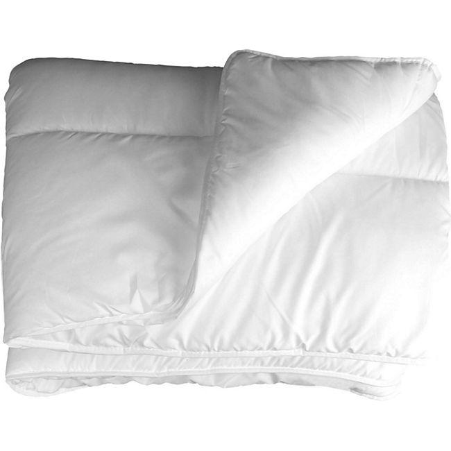 Bettdecke 220x240 cm 2 Personen Inlett Decke Übergröße Steppbett Zudecke - Bild 1
