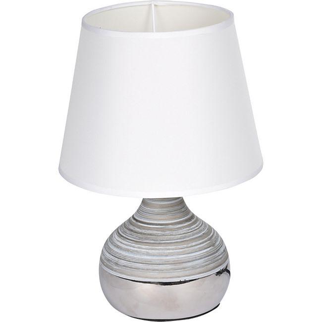 Homea Keramik Tischlampe 27,5cm - Bild 1