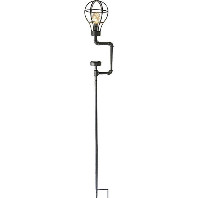 GardenPleasure Vintage Retro Solar Leuchte KONSTANTIN Garten Gartenlampe Lampe - Bild 1