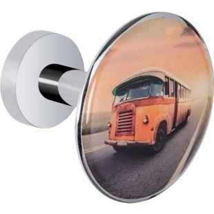 Wenko Wandhaken Design Vintage Bus Retro Garderobe Haken Garderobenhaken - Bild 1
