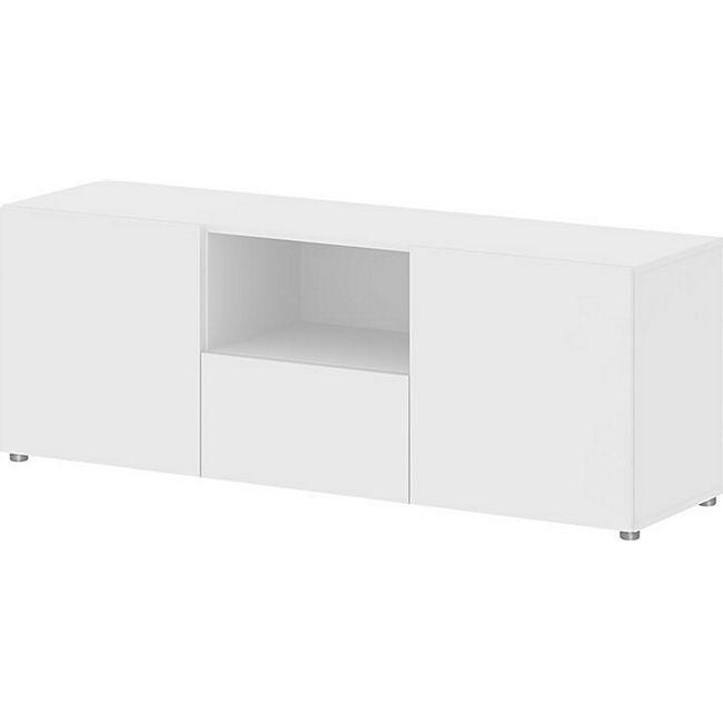 TV Board Collect Sideboard Kommode Fernsehschrank Fernsehtisch Lowboard weiss - Bild 1