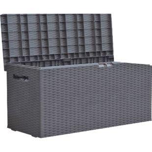 Auflagenbox Rattan Optik Gartenbox Gartentruhe Auflagen Kissen Garten Box Truhe - Bild 1