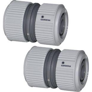 2x  GARDENA 2932 Reperator Kupplung Schlauchreperatur Wasserschlauch Verbinder - Bild 1