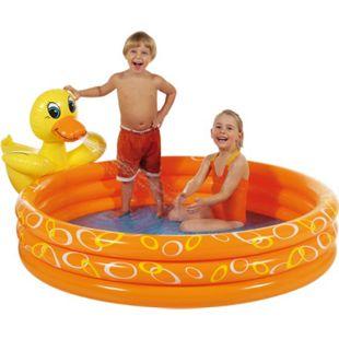Royalbeach Kinder Planschbecken Spritztier Ente Ø 150 cm Activity Erlebnis Pool - Bild 1
