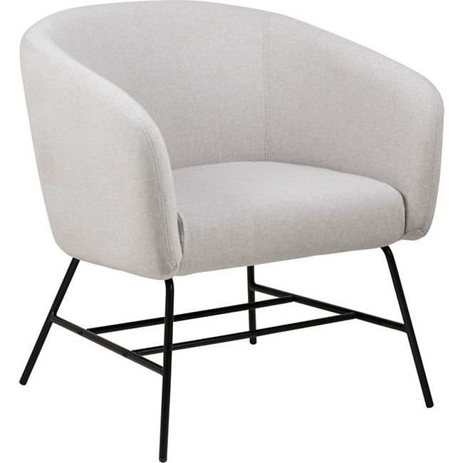 PKline Sessel RAMY in hellgrau Relaxsessel Loungesessel Clubsessel - Bild 1