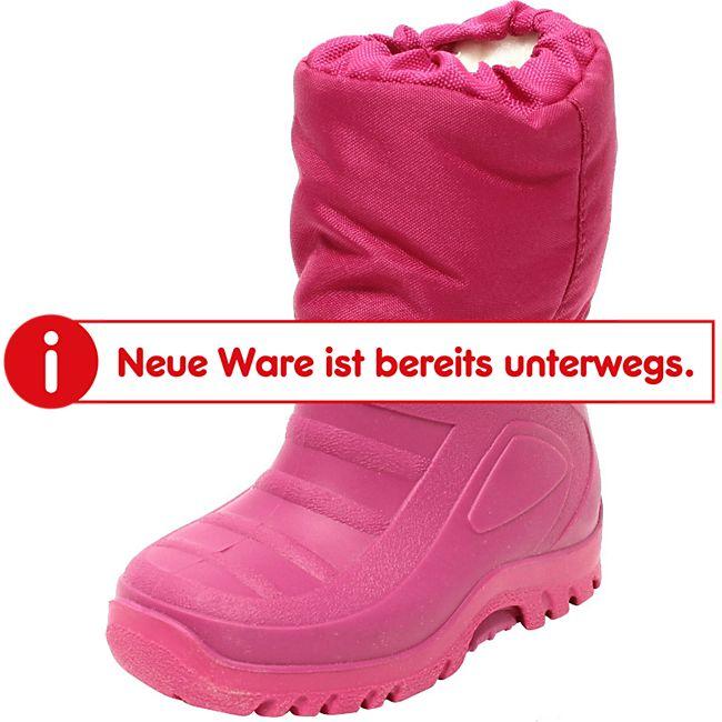 Kinder Mädchen Snowboots Beere Pink - Bild 1