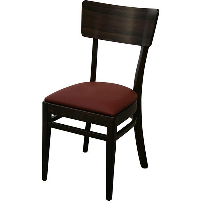 8x KONWAY Indoor Holz Stuhl Set BEAT Objektstuhl Gastronomie Esszimmer Stühle - Bild 1